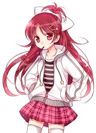 anime hair accessories image anime girl hair jacket kawaii favim 255010 jpg