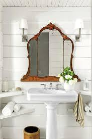 Mirror In A Bathroom Farmhouse Style Archives Modern Farmhouse