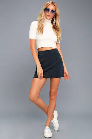corduroy skirt cool navy blue skirt corduroy skirt mini skirt