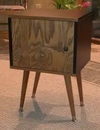 Ikea End Table Hack Expedit Leftover Become Mid Century Style Bedside Table Ikea