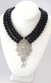 black neck necklace images Black necklaces heftsi JPG