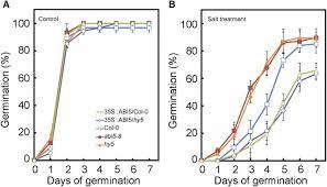salt stress and ethylene antagonistically regulate