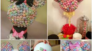 how to make centerpieces majestic lollipop centerpiece chocolate delicate construction 4