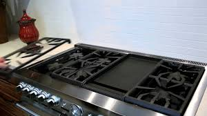 Gas Countertop Range Kitchen Cooktops Care For Thermador Gas Cooktops Youtube