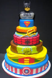 10 geek chic wedding cakes