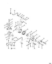 mercury outboard shifter controls diagram mercury throttle control