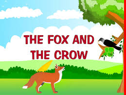 the fox and the crow kindergarten story for kids youtube