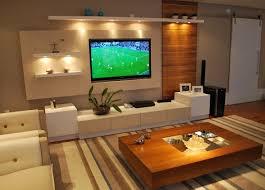 salas living room wall units sala de tv o aconchego da madeira aliado ao eterno branco salas