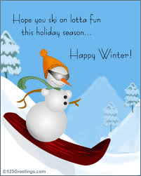 winter wish free friends family ecards greeting cards