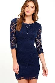 blue lace dress lovely navy blue dress lace dress bodycon dress 59 00