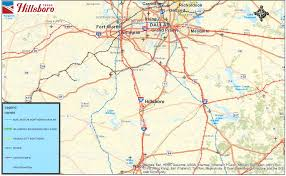 Map Of Hillsboro Oregon by Hillsboro Texas State And Local Maps