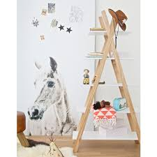kids teepee bookcase in white kids themed furniture cuckooland