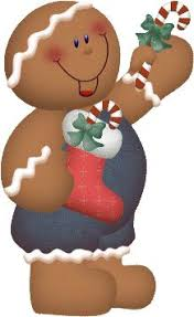 Gingerbread Men Digital Clip Art Crafts Pinterest