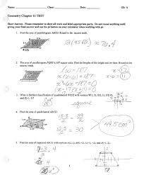 math classes spring 2012 geometry chapter 11 test 2 answer key