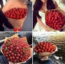 food bouquets if someone got me a strawberry bouquet i would cry dank