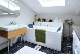 small attic bathroom with skylight ceiling bathroom ownmutually