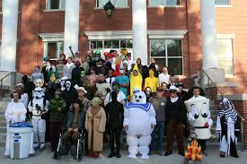 echo company u0027s halloween haunted house spooks students earns