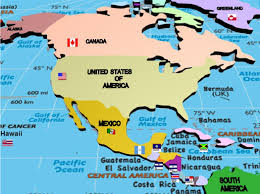 Map Of South And Central America Political Map Of North America 1200 Px Nations Online Project