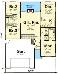 23 collection of 16 x 24 floor plans cabin ideas plan 62620dj split bedroom ranch house plan ranch house plans