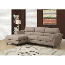 canapé marron clair canapé d angle fixe tissu marron clair espace decormat