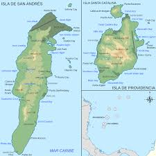 Map Of Central America And South America Archipelago Of San Andrés Providencia And Santa Catalina Wikipedia