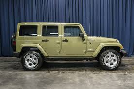 jeep sahara green 2013 jeep wrangler unlimited sahara 4x4 northwest motorsport