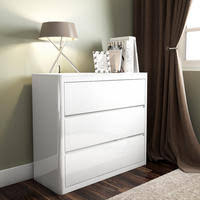 White Bedroom Chest - chest of drawers furniture123