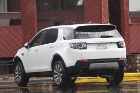 land rover suv 2016 land rover and jaguar spied testing new suv fleet in the us