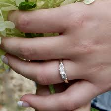 grandidierite engagement ring vintage yesterday today and tomorrow 1ct diamond engagement ring