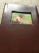 4x6 Leather Photo Album Old Town Deluxe Bonded Leather Photo Album 300 Pictures 4x6