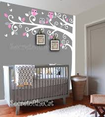 Tree Nursery Wall Decal Nursery Wall Decal Wall Decals Nursery Corner Tree Wall
