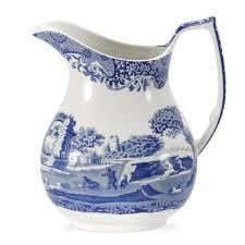 Spode Vases Spode Blue Italian Hexagonal Vase Spode Uk