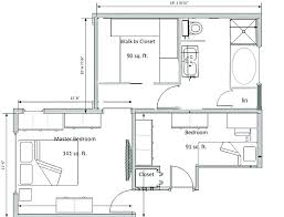 master bathroom design plans master bath floor plans with walk in closet partedly info
