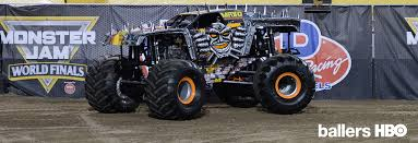 monster trucks crashing videos hbo u0027s ballers connects with monster jam monster jam