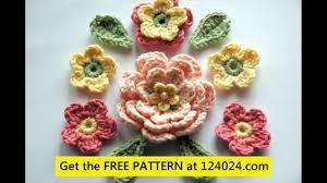 Tiny Flower Crochet Pattern - crochet tiny flower youtube