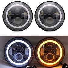jeep headlights halo 2pcs 7