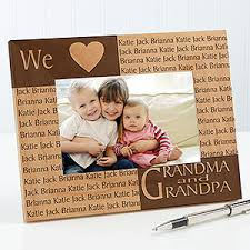wooden personalized gifts personalized wood picture frame with engraved names