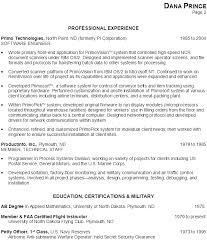 Sample Resume For Factory Worker by Resume For A Software Engineer Programmer Susan Ireland Resumes