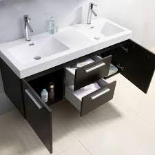 Bathroom Vanities Usa by Abersoch 54 Inch Double Sink White Bathroom Vanity