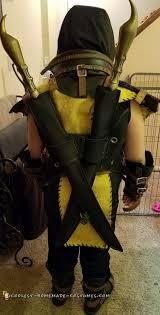 Scorpion Costume Cool Homemade Scorpion Mortal Kombat Halloween Costume