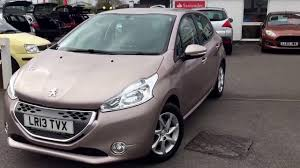 peugeot automatic cars peugeot 208 1 4 e hdi active automatic youtube