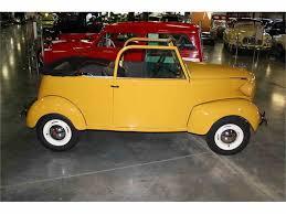 crosley car 1939 crosley coupe for sale classiccars com cc 730711