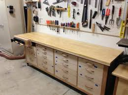 Ideas For Workbench With Drawers Design Best Garage Workbench With Drawers Fresh In Drawer Organization