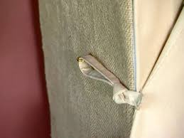 Lined Burlap Curtain Panels Burlap Lined Cabinet With Drapery Panel Doors Hgtv
