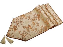 table leaf bag protector elegant plum bamboo table runners handmade dining protective mats