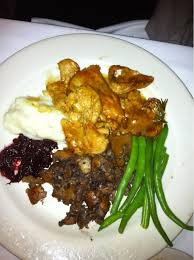 most disgusting thanksgiving meal this is the chicken they