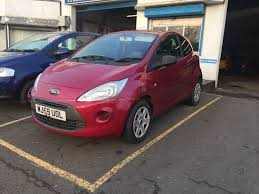 ford ka 1 2 petrol manual 3 door hatchback 2009 purple new shape
