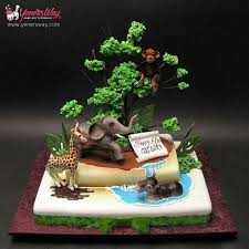 26 best jungle cake ideas images on pinterest jungle cake
