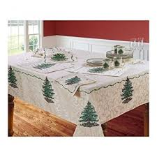 spode tree tablecloth 60 x 104 home kitchen