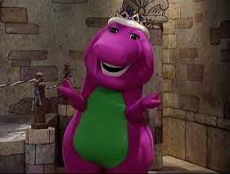 image king barney come blow your horn jpg barney wiki